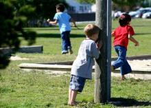 детские игры - прятки