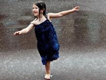 детская игра дождь идёт