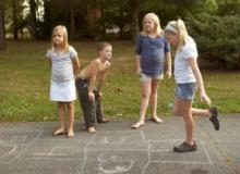 детская игра классики