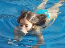 детская игра салки на воде