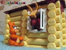 детская игра у оленя дом большой