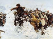детская игра взятие снежной крепости