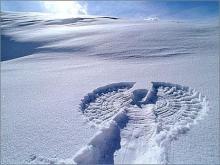детское развлечение снежный ангел