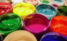 детская игра Монах и краски (черт и краски)